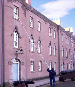 Cleaning the Barracks at Berwick Upon Tweed
